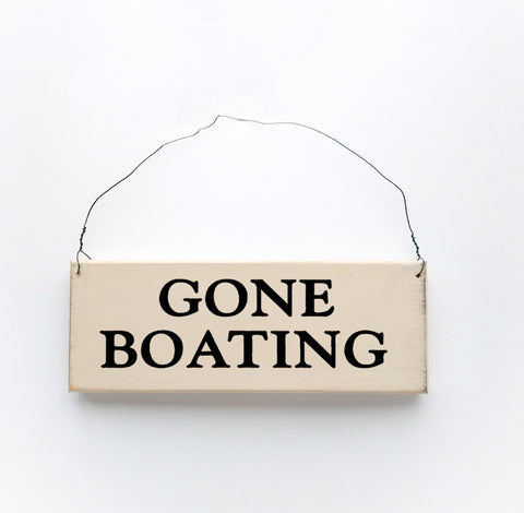 Gone Boating