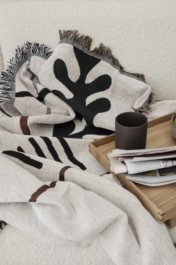 Ferm Living Mirage Blanket - Off White