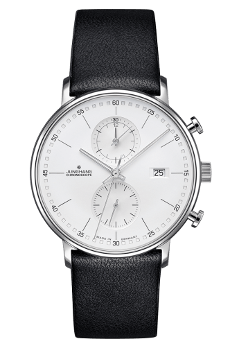Junghans Form C - Quartz Chronograph Blue Band Numerals