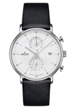 Junghans Form C - Quartz Chronograph Black Band Lines