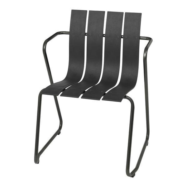 Mater Ocean Dining Chair Black