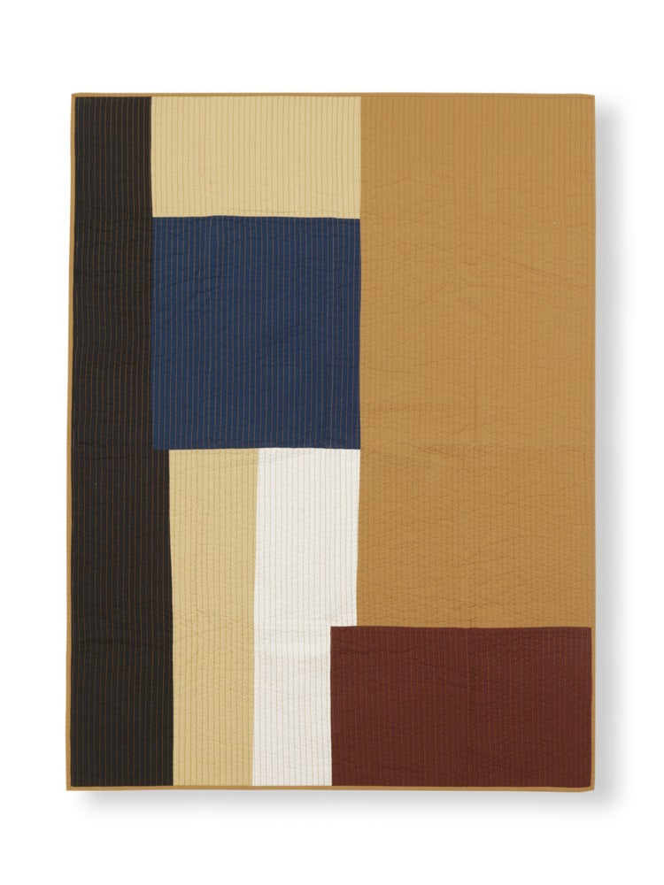 Ferm Living Shay Patchwork Quilted Blanket