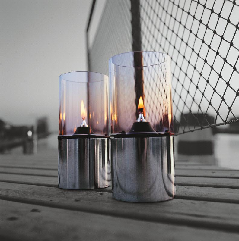 Stelton Oil Lamp Frosted glass