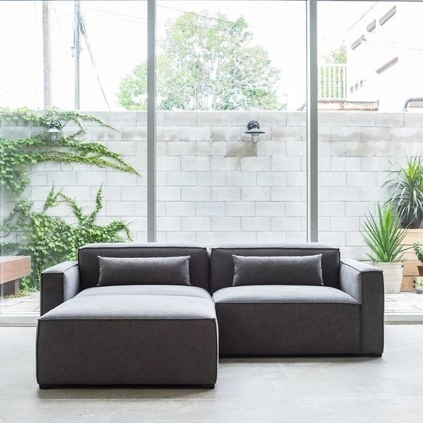 GUS Modern Mix Modular Sectional - Right Arm Sectional Piece