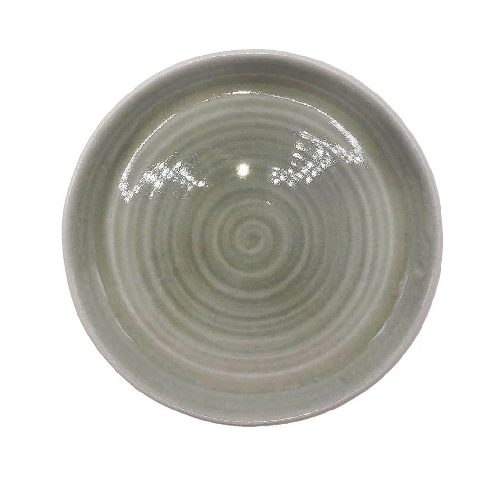 Canvas Home Pinch Dinner Plate - Set of 4 Grey