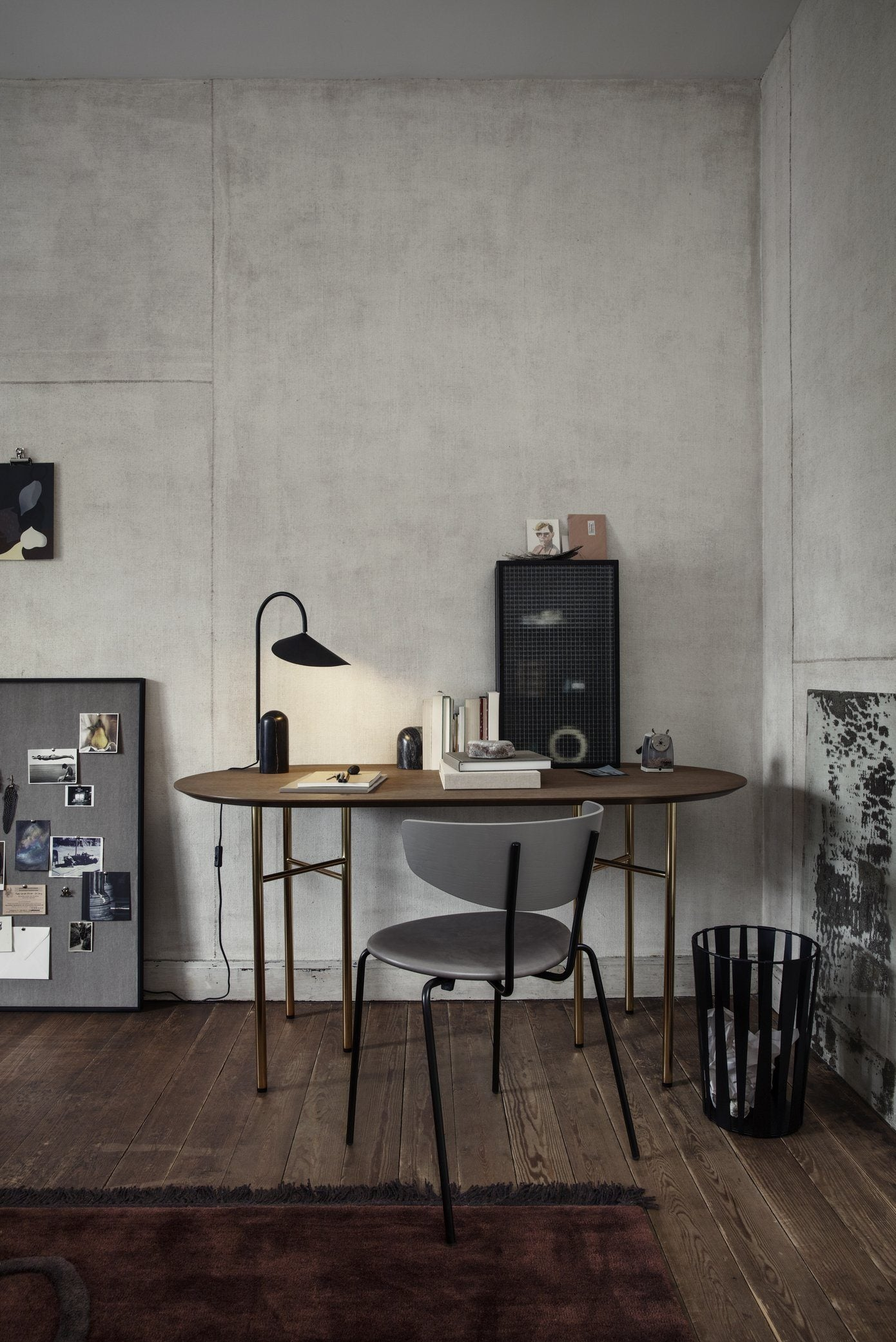 Ferm Living Mingle Table Legs - Metal | W68