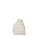 Ferm Living Vulca Mini Vase - Off White Stone