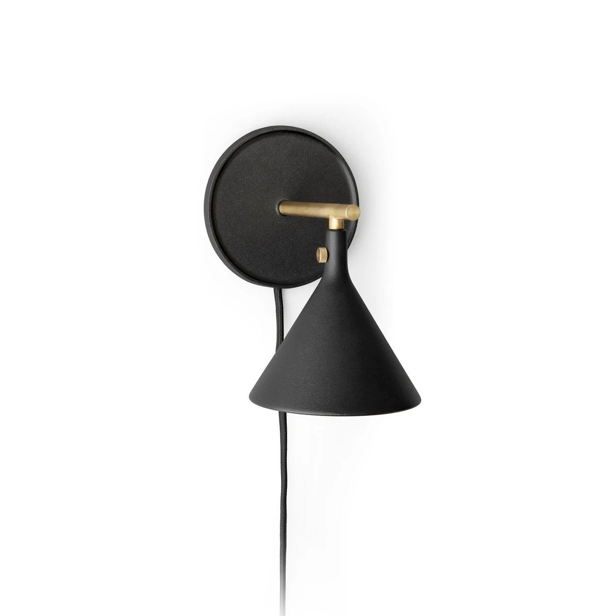Menu Cast Sconce Wall Lamp Black