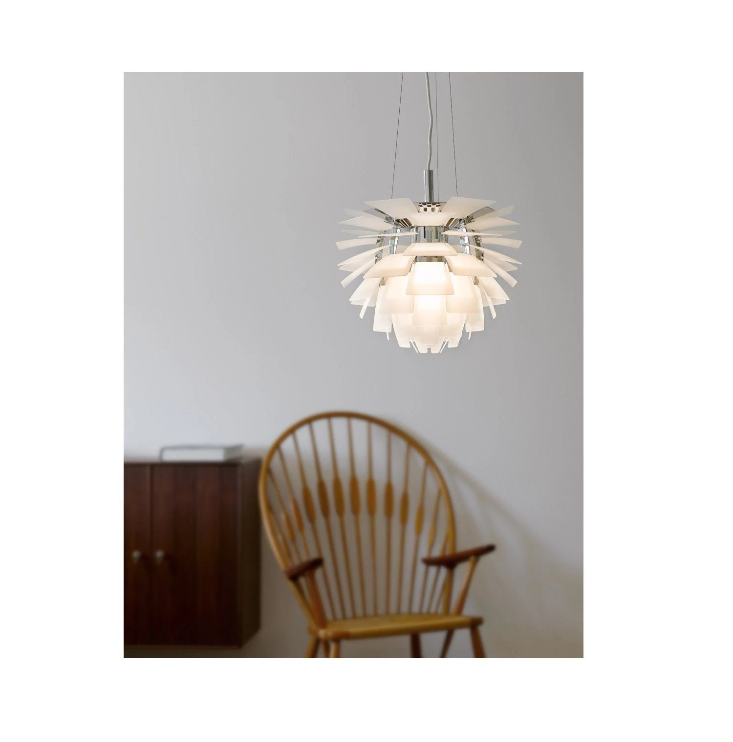 Louis Poulsen PH Artichoke Pendant - White Gloss Small