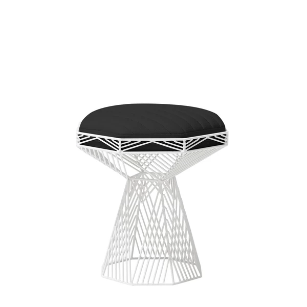 BEND Switch Table / Stool Black Terrazzo Top