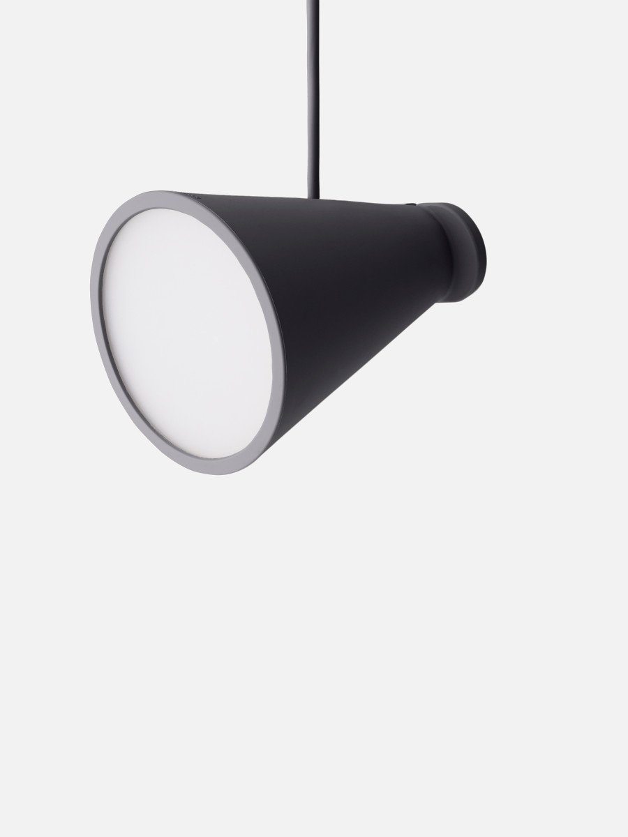 Menu Bollard Lamp Black