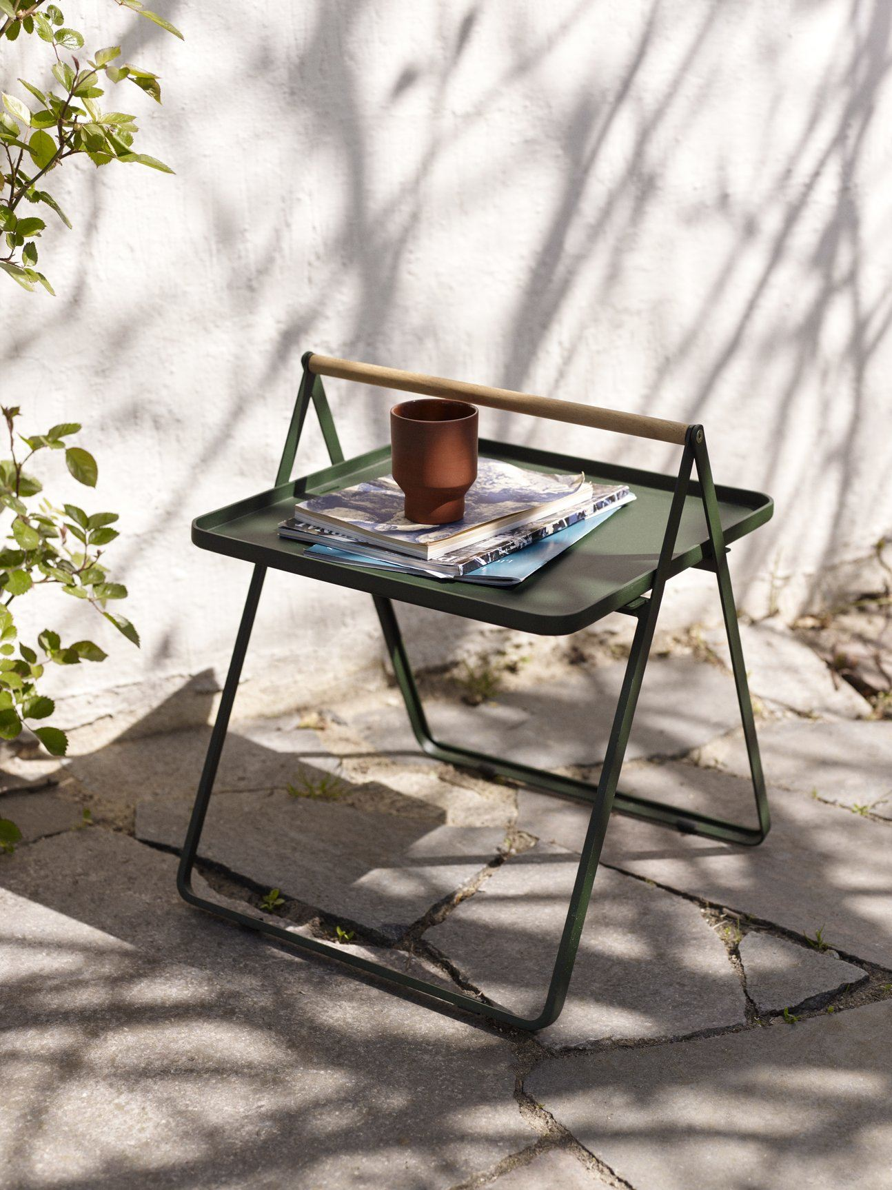 Skagerak By Your Side Table Hunter Green