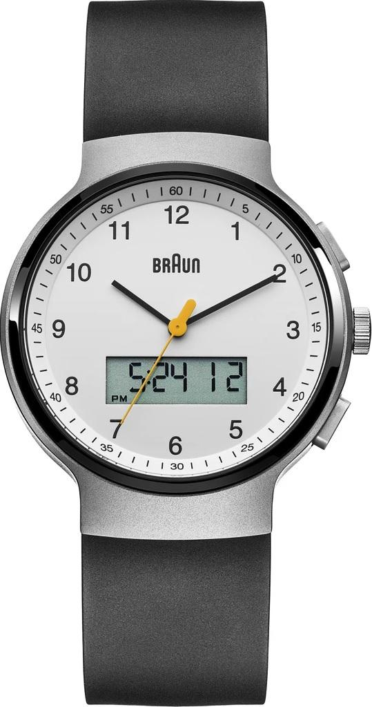 Braun BN-159WHBKG Men's Analog/Digital, Dual Time, Chronograph + Date