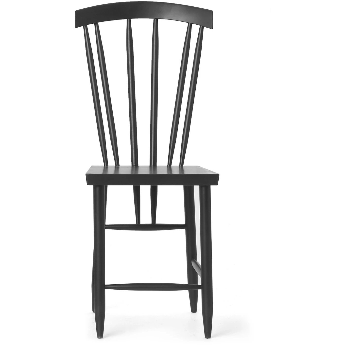 DESIGN HOUSE STOCKHOLM Family Chair No.3 - Set of 2 Black Without Cushion