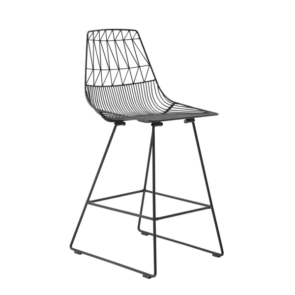 BEND Lucy Counter Stool Black Standard (Non-stackable)