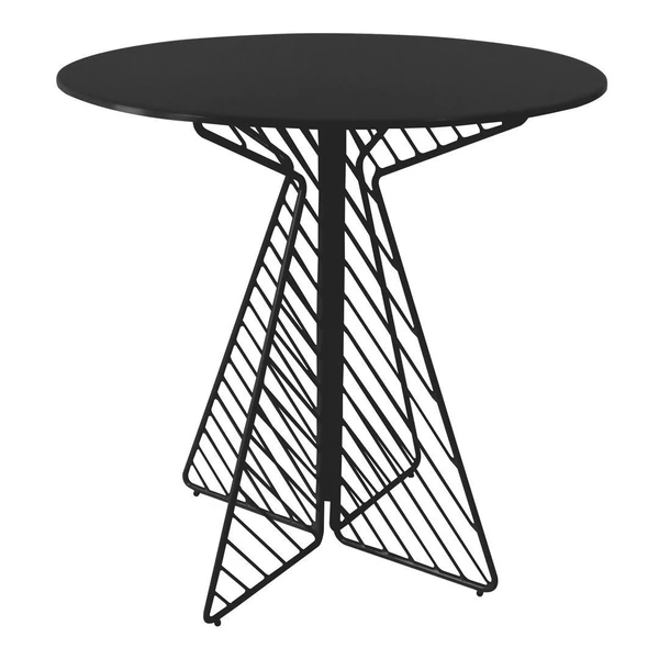 BEND The Cafe Table Black Round