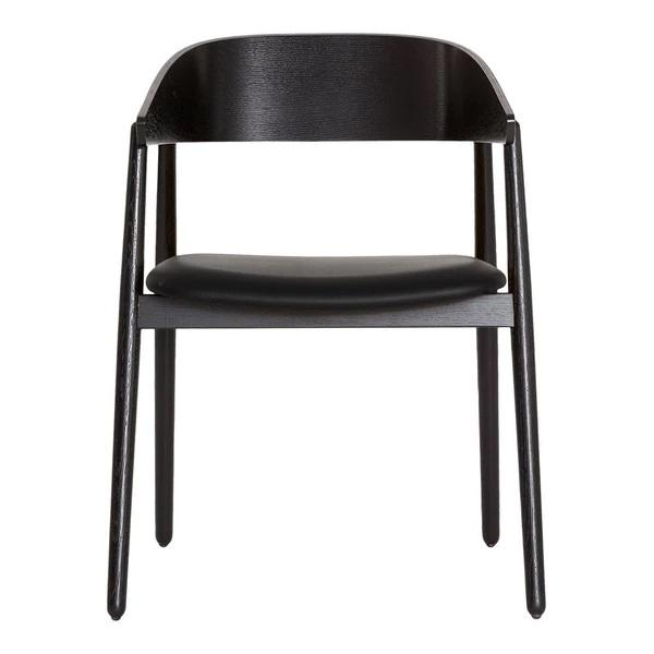 Andersen AC2 Chair - Upholstered Black -Lacquer Step Melange 60021
