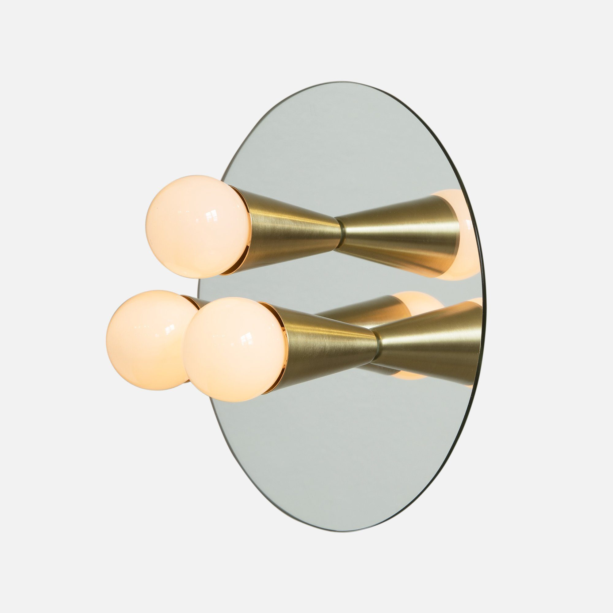 Souda Echo 3 Sconce Brass