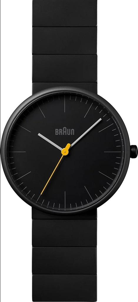 Braun BN-171BKBKG Men's Ceramic Analog Watch, Matte Black
