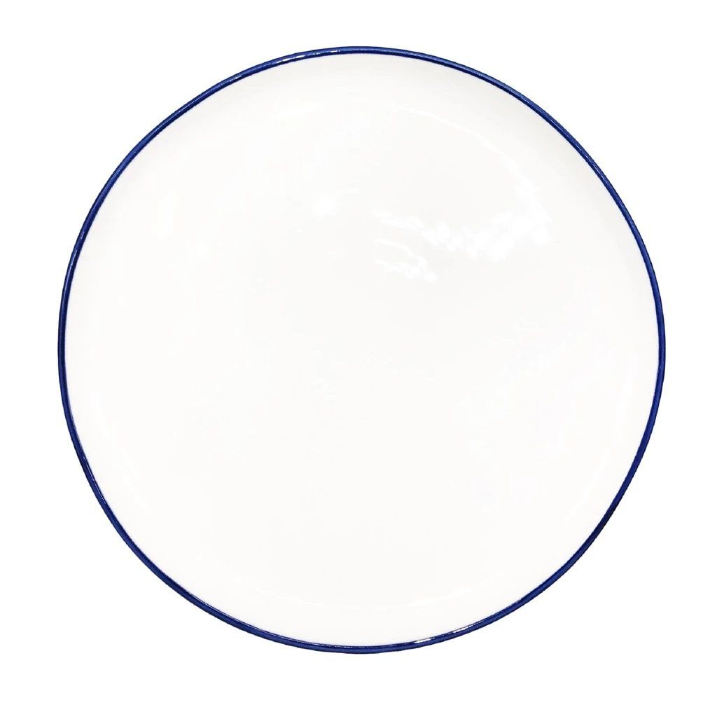 Canvas Home Abbesses Medium Plate - Set of 4 Blue