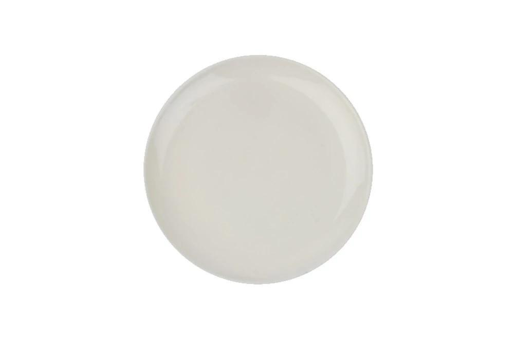 Canvas Home Shell Bisque Salad Plate - Set of 4 Blue