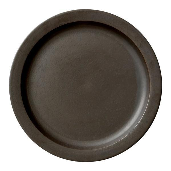 Menu New Norm Dinner Plate - 11 in Dark Glazed