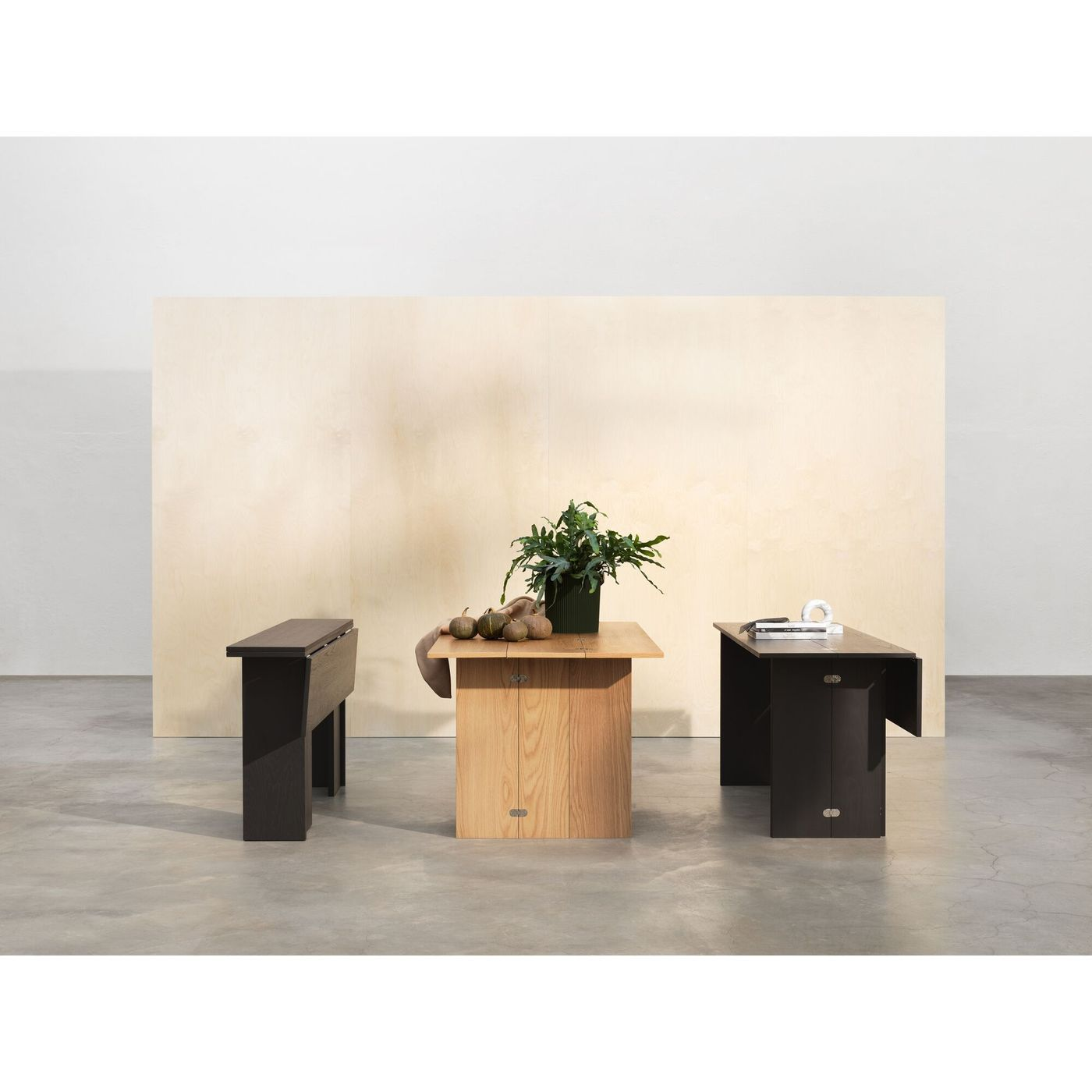 DESIGN HOUSE STOCKHOLM Flip Table Black