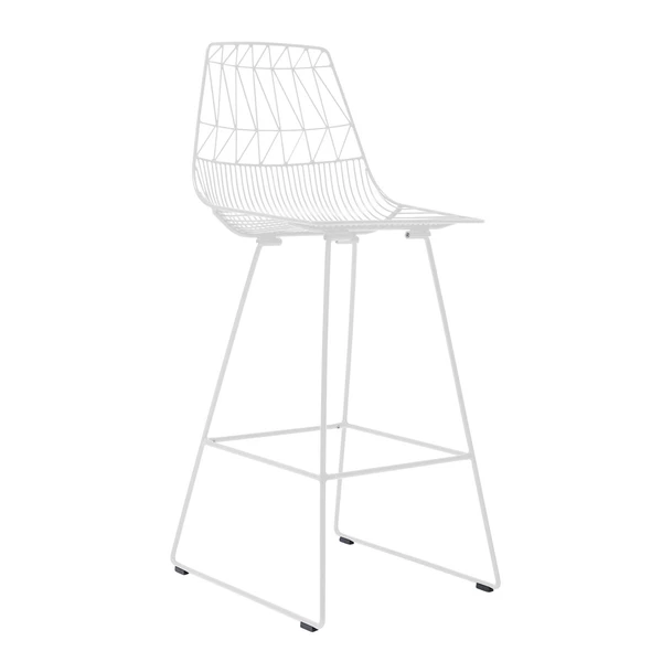 BEND Lucy Bar Stool Peacock Standard (Non-Stackable)
