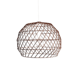 BEND Array Pendant Chandelier Copper