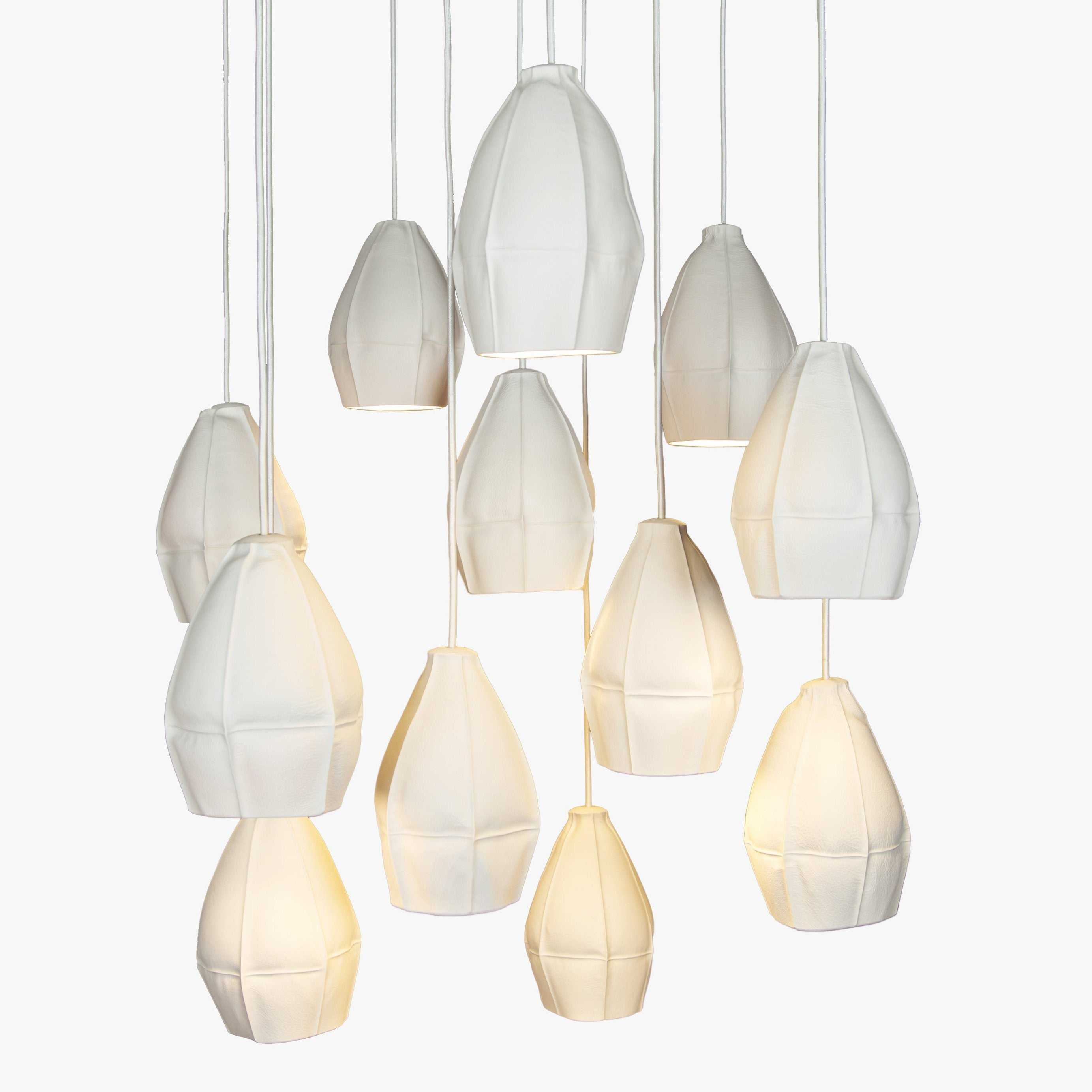 Souda Kawa Pendants - Cluster of 12