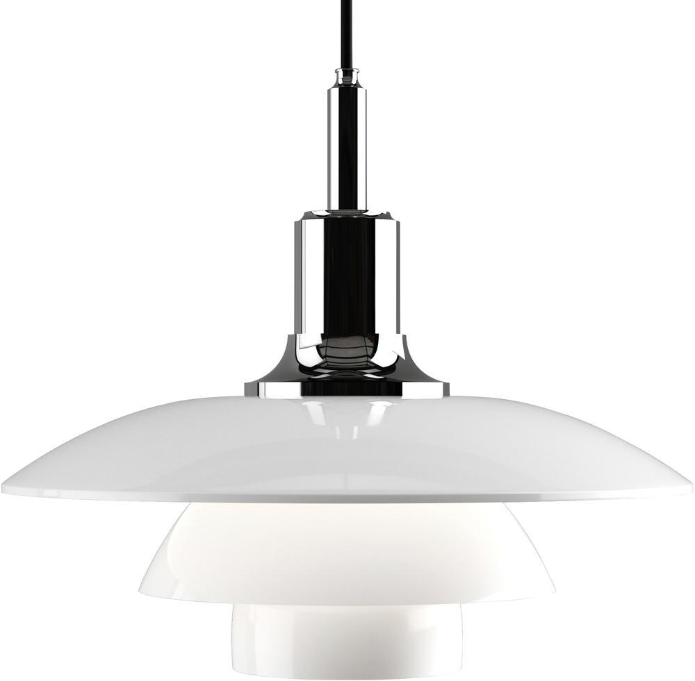 Louis Poulsen PH 3.5-3 Pendant - Chrome