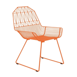 BEND Farm House Lounge Chair Orange