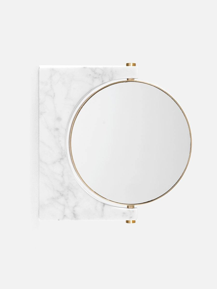 Menu Pepe Marble Wall Mirror White