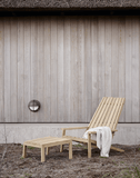 Skagerak Between Lines Deck Chair & Stool Chair & Stool