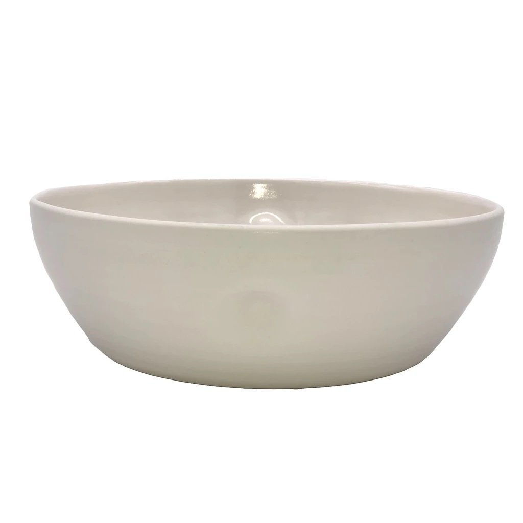 Canvas Home Pinch Large Salad Serving Bowl Grey