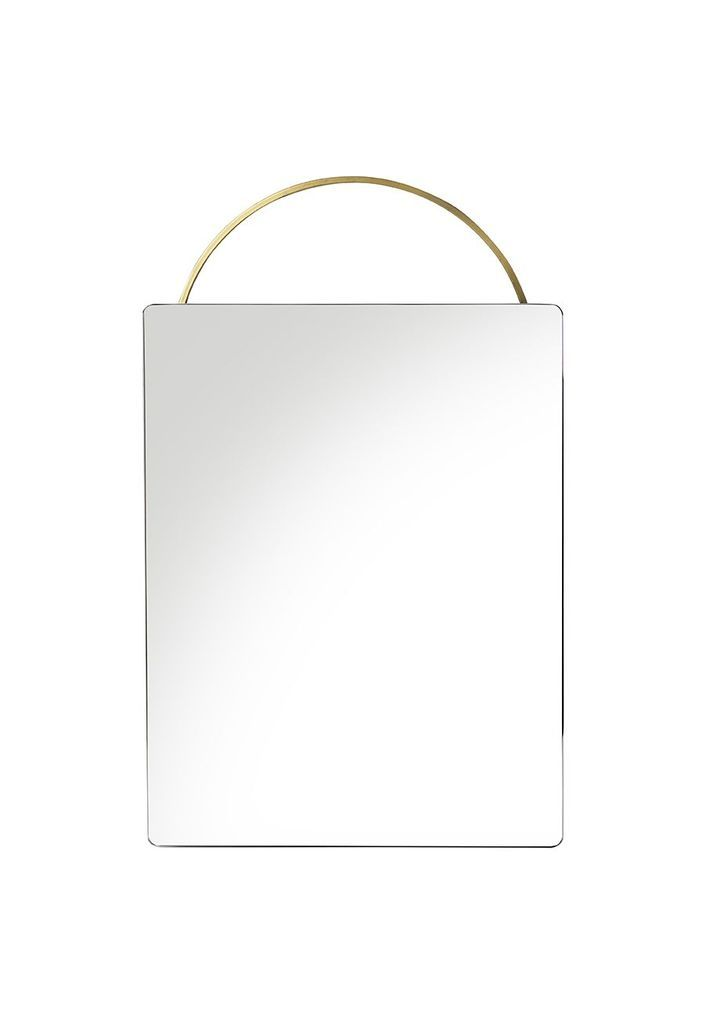Ferm Living Adorn Face Mirror Black