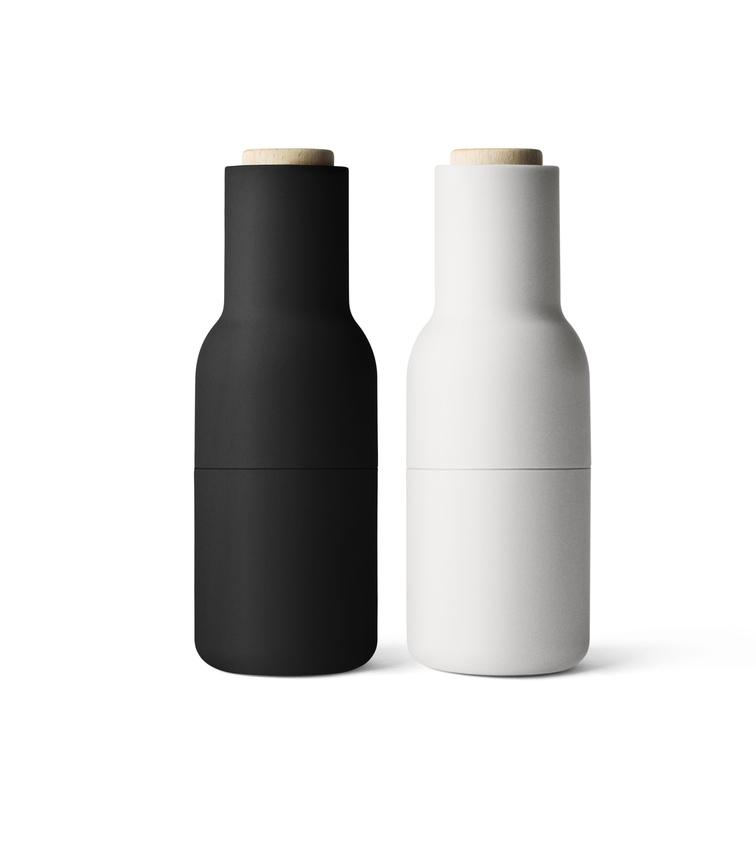 Menu Bottle Grinder Carbon/Ash (Beech Lid)