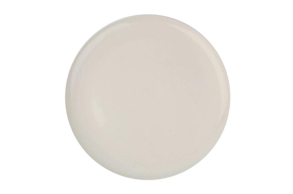 Canvas Home Shell Bisque Dinner Plate - Set of 4 Blue