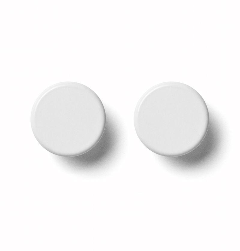 Menu Norm Bath Wall Knobs White