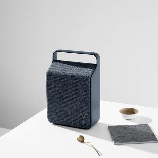 Vifa Oslo Bluetooth Wireless Portable Speaker Mountain Blue