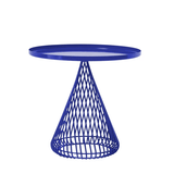 BEND The Cono Side Table Electric Blue