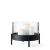 Blomus Nero Pillar Candle Tray