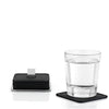 Blomus Trayan Coasters w/ Stainless Steel Holder