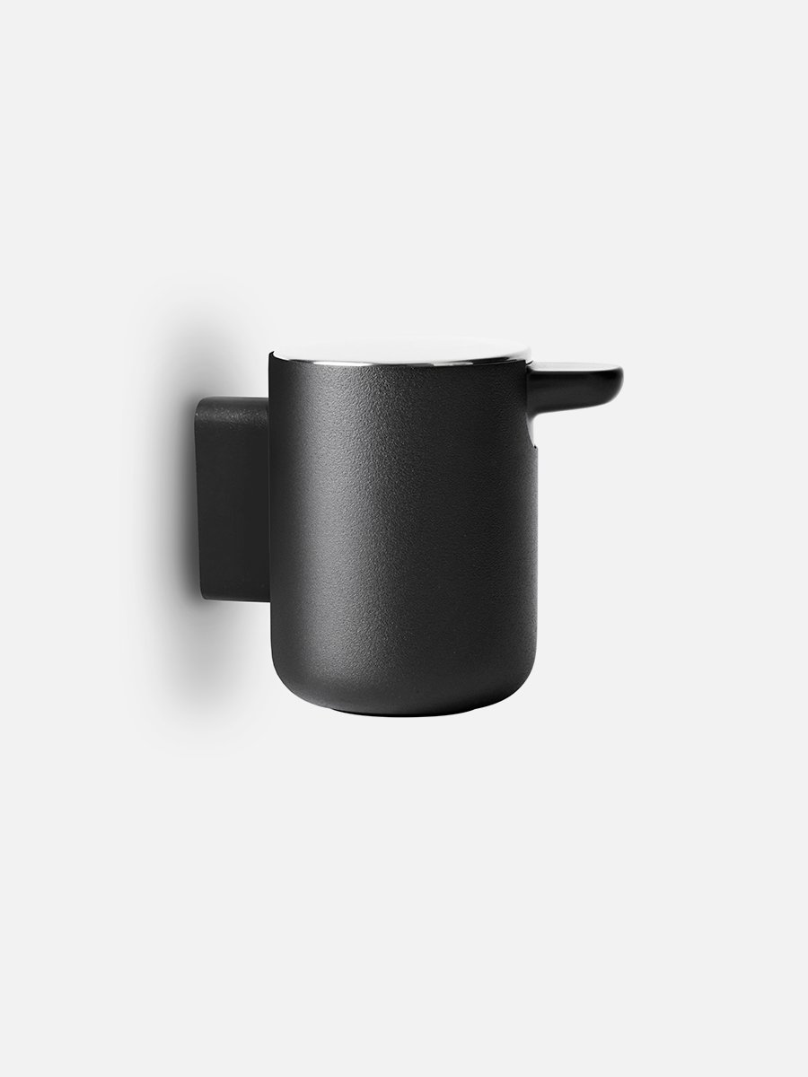 Menu Norm Wall Mounted Bath Soap Pump Black