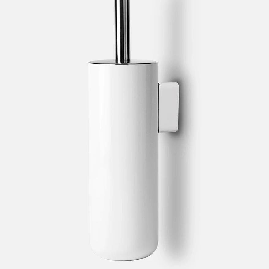 Menu Norm Bath Toilet Brush - Wall Mounted White