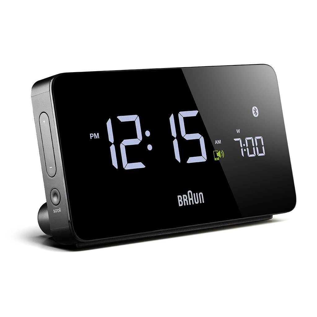 Braun Bluetooth Alarm Clock