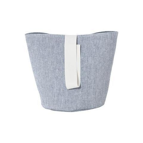 Ferm Living Chambray Basket - Blue Small