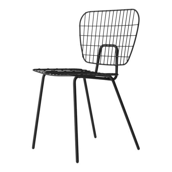 Menu Studio WM String Dining Chair - Set of 2 Black