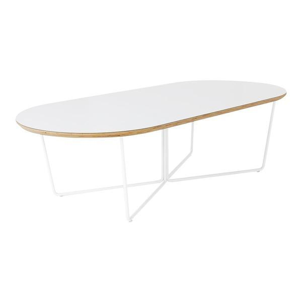 GUS Array Oval Coffee Table Black