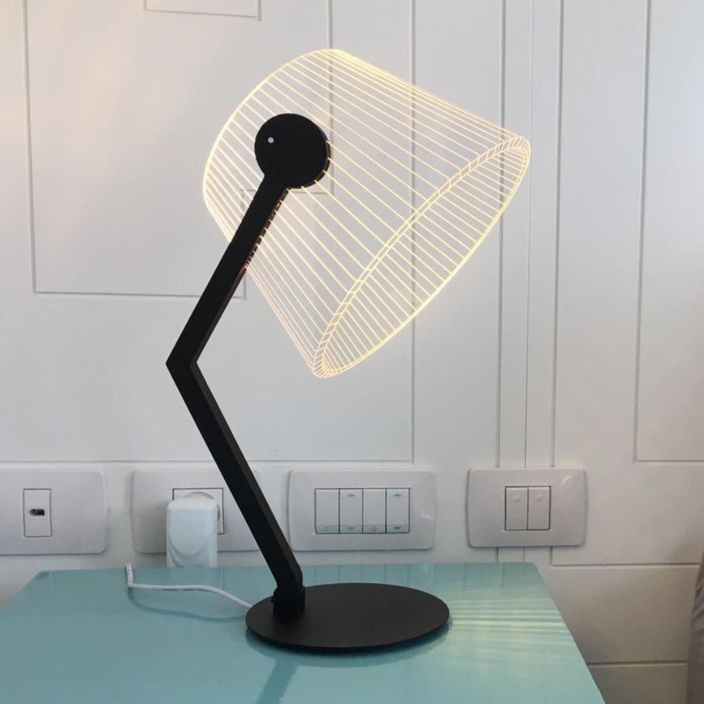Studio Cheha ZIGGi Black Lamp